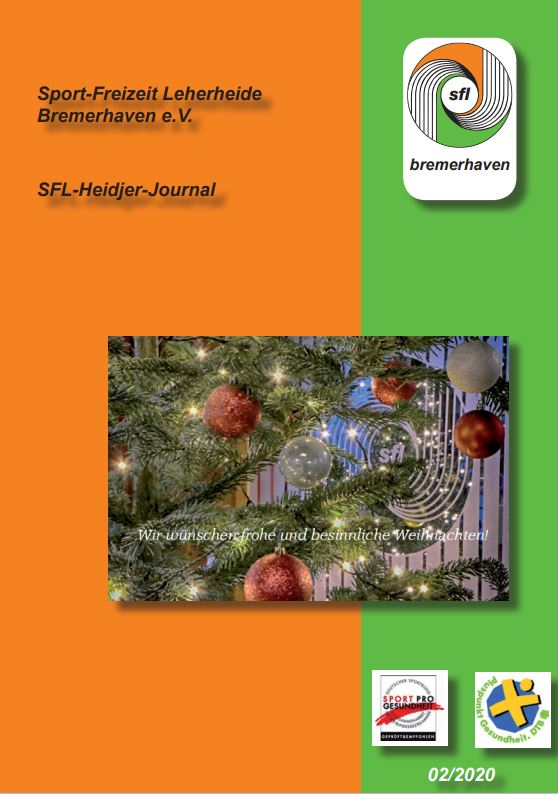 SFL Heidjer Journal 2 2020 Cover