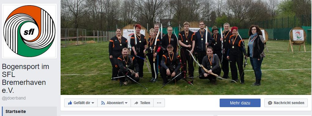 SFL Facebook Bogensport